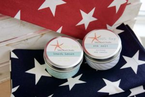 Flowers by Hoboken – holiday candles, soy candle, homemade candle, Salty bay studio candles